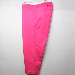 Liz Claiborne Emma Pink Ankle Pant